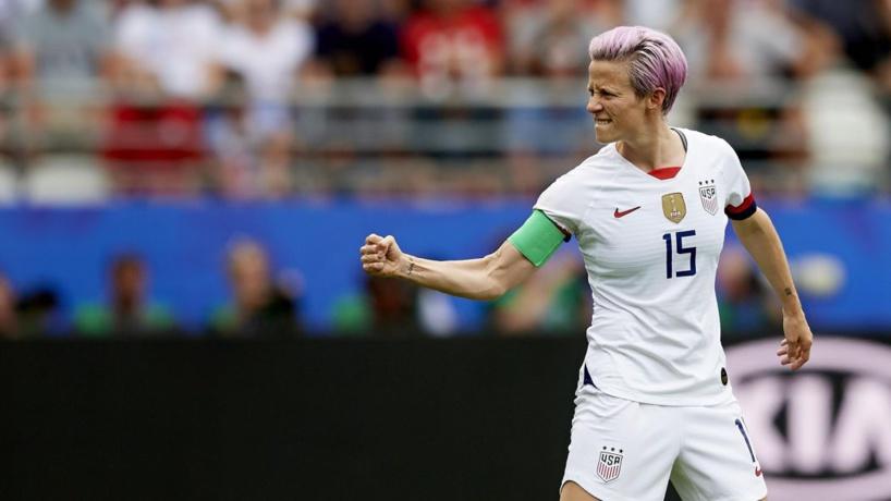 Mondial Foot féminin: les USA éliminent la France en quart (2-1)