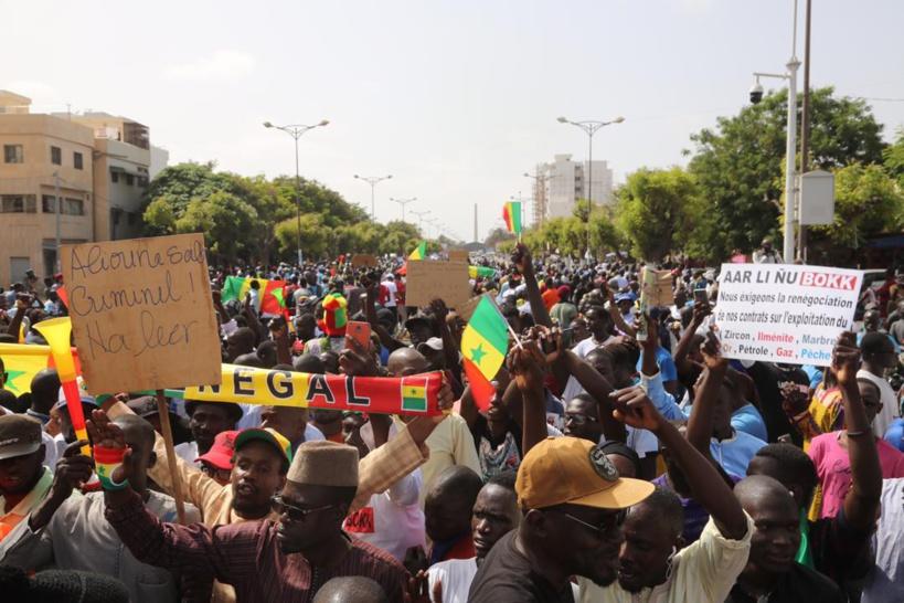Détention de manifestants: Aar Li Ñu Bokk crie sa colère et met garde le régime de Macky
