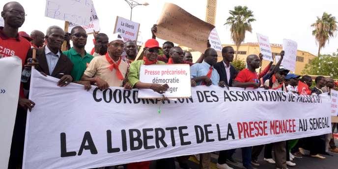 Descente musclée de la DIC chez Jean Meissa Diop: les organisations professionnelles de la presse exigent des excuses publiques de la Police