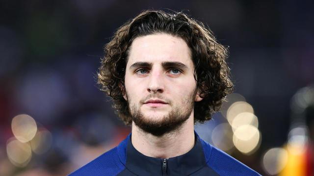 Rabiot est arrivé à Turin