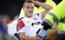 Manchester United : Saison terminée pour Vidic