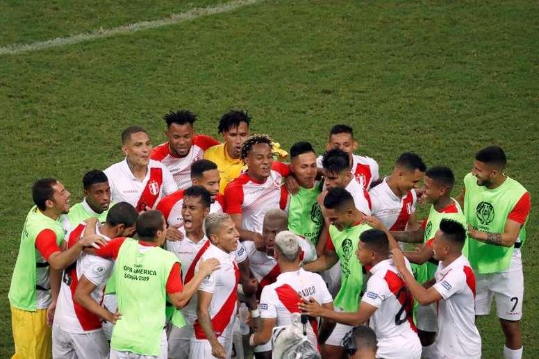Le Pérou vient à bout du tenant du titre et file en finale