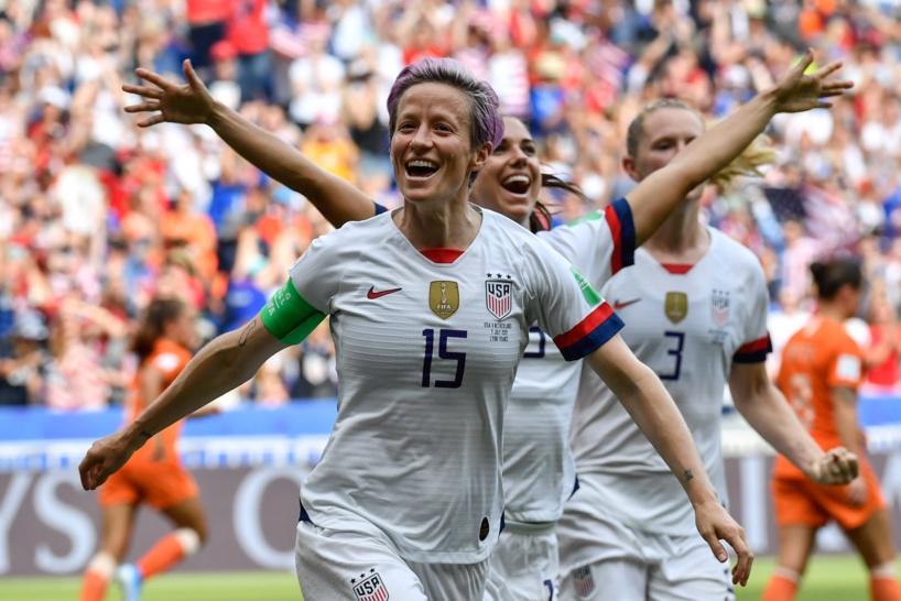 Coupe du monde de football féminin: les Etats-Unis conservent  leur titre