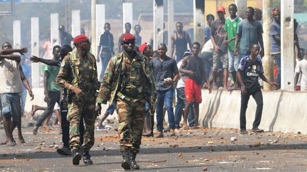 Les gendarmes autorisés à tirer à vue en Guinée