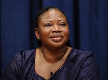 Fatou Bensouda, nouvelle procureure de la Cour pénale internationale, élue le 12 décembre 2011. EMMANUEL DUNAND / AFP