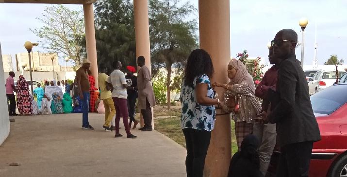Brigade des affaires générales de la DIC: Aliou Sall a été accueilli à son arrivée par des dizaines de militants