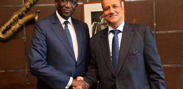 Diplomatie: Amadou Ba, ministre des Affaires étrangères reçoit son homologue mauritanien