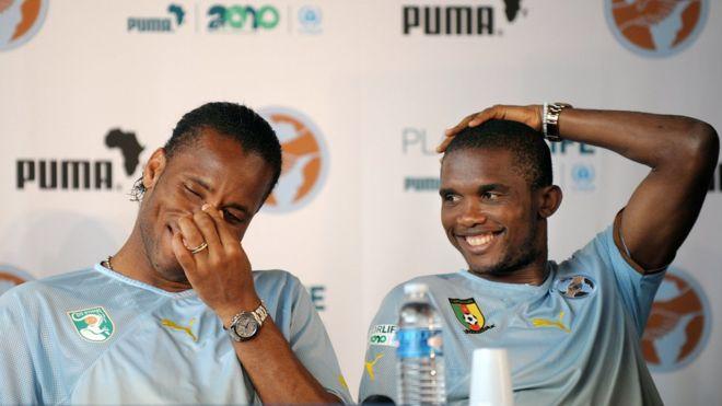 Officiel ! Didier Drogba et Samuel Eto'o intègrent la CAF