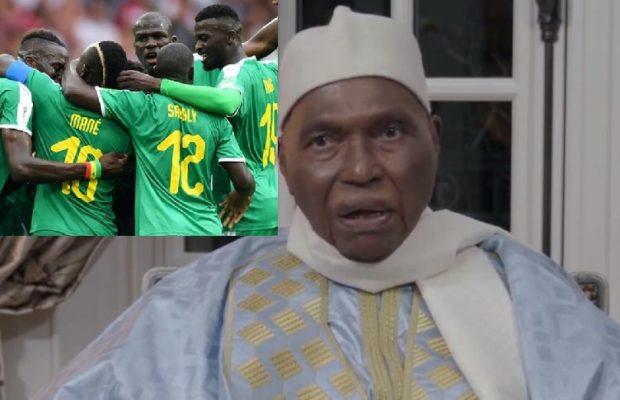 Me Abdoulaye Wade: «Vous avez été merveilleux et Sadio Mané étincelant»