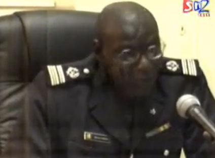 Colonel Alioune Ndiaye, porte-parole de la police nationale