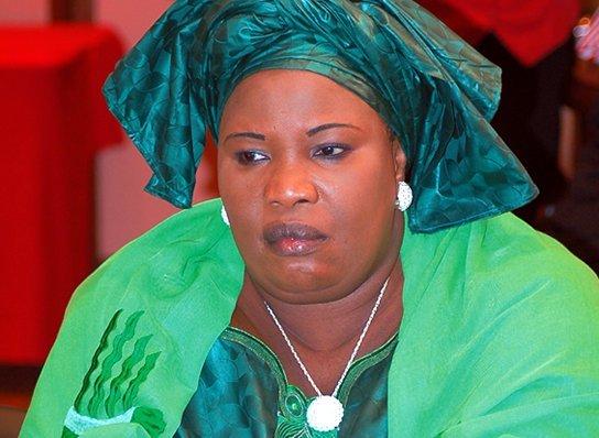 La présidente des femmes du PS, Aminata Mbengue Ndiaye