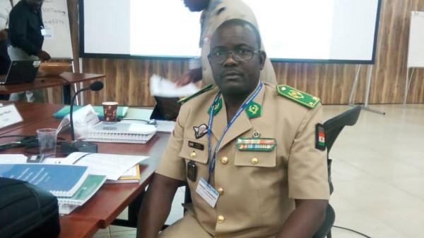 Le général Oumarou Namata Gazama prend le commandement du G5 Sahel
