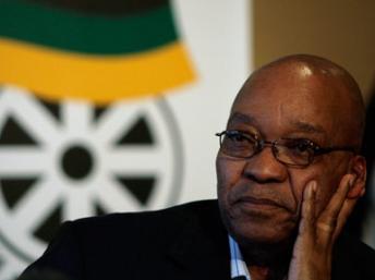 Jacob Zuma, chef de l'Etat Sud-africain. Reuters/Siphiwe Sibeko