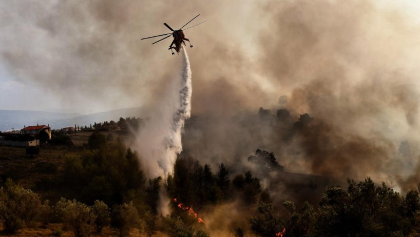 Algérie: le nord du pays ravagé par plusieurs incendies