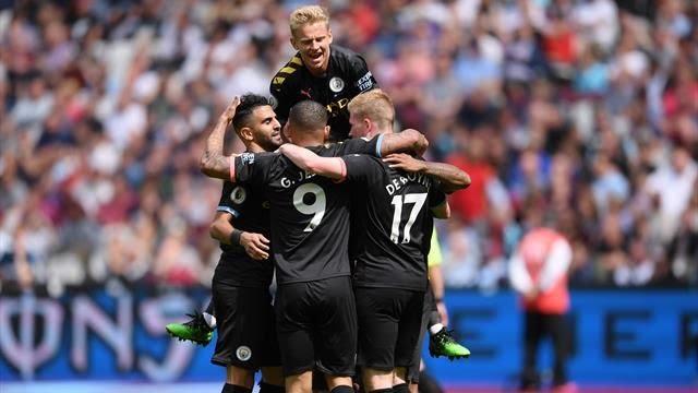 Premier League : Manchester City écrase West Ham (5-0)