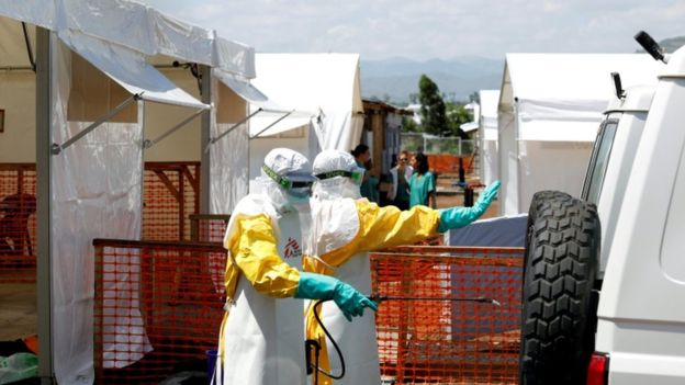Ebola : un traitement efficace à 90% testé en RDC