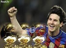 Après son triplé, Messi loué par ses coéquipiers et par d'anciens ballons d'or