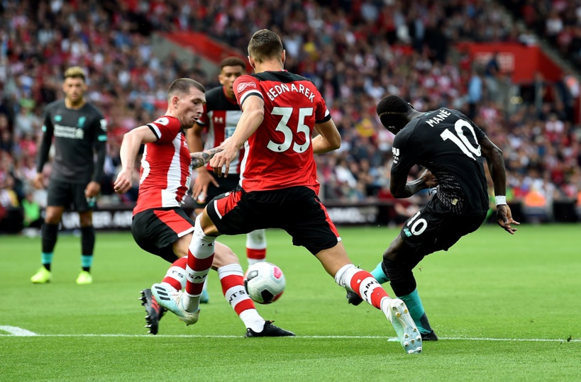 Premier League: Sadio Mané ouvre le score face à Southampton