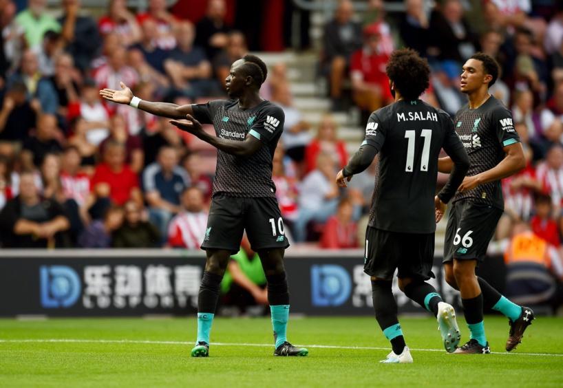 Premier League: Liverpool s'impose à Southampton (1-2)