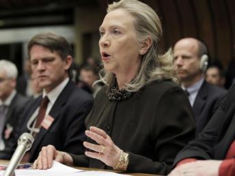 Hillary Clinton, la secrétaire d'Etat américaine REUTERS/J. Scott Applewhite