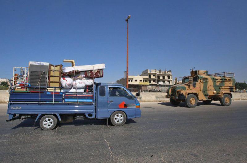 "La Turquie condamne ""fermement"" l'attaque de son convoi militaire en Syrie"