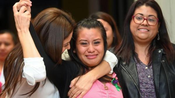 Evelyn Hernandez acquittée après 33 mois de prison pour infanticide