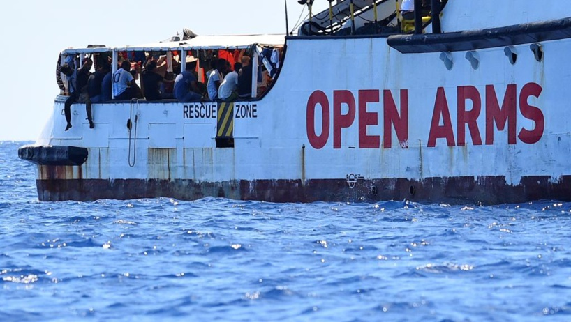 Italie: le procureur d'Agrigente (Sicile) ordonne la saisie du navire «Open Arms» et le débarquement des migrants