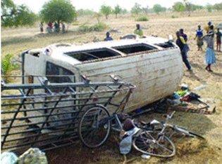 Diourbel : deux accidents de voitures font plusieurs morts et des blessés
