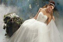 Un mariage digne d'un conte de fées avec les robes Disney Bridal