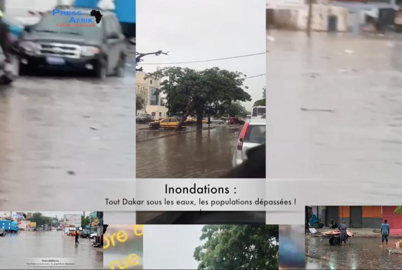 Vidéo - Dakar encore sous les eaux, les populations dépassées !