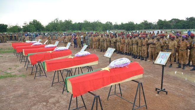 Deuil national de 72h au Burkina après la mort de 24 soldats