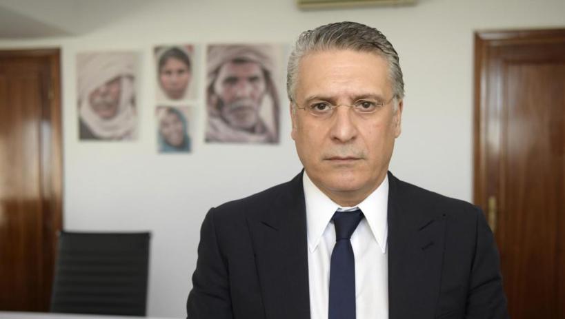Tunisie: l'homme d'affaires et candidat à la présidentielle Nabil Karoui arrêté