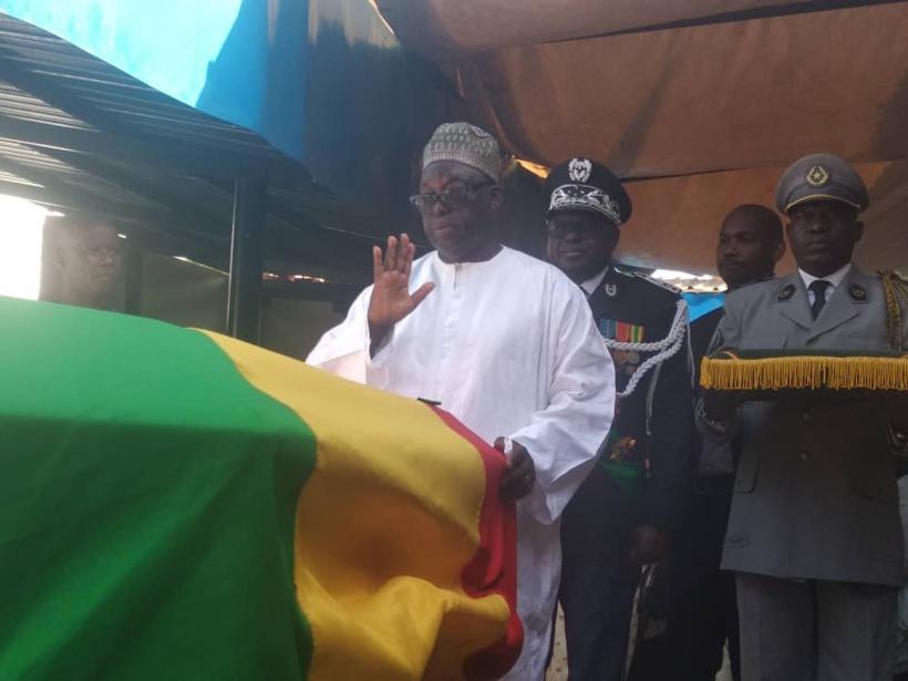 Amath Dansokho repose aux cimetières Thiaka Ndiaye de Saint-Louis