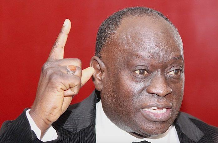 Sonko doit être « arrêté » et mis « immédiatement » en prison, selon Me Elhadji Diouf