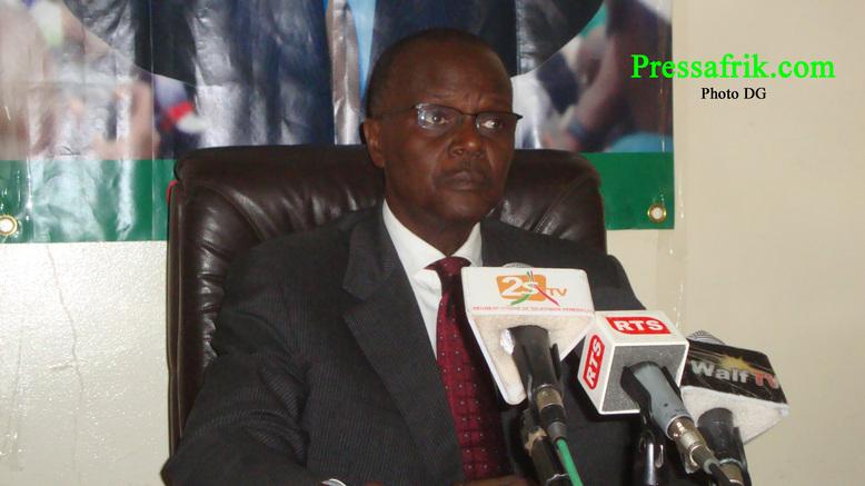Can 2012 : Ousmane Tanor Dieng souhaite une « brillante participation » des Lions
