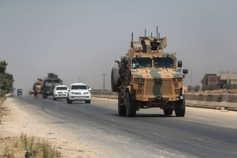 Syrie : raids aériens près d'un poste des forces turques