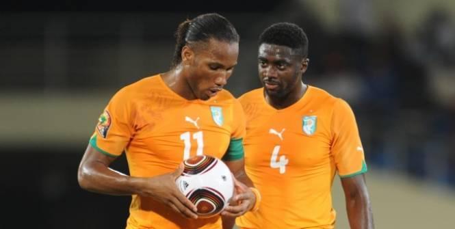 Didier Drogba et Kolo Touré espèrent enfin remporter la Coupe d'Afrique des Nations avec la Côte d'Ivoire.(EQ)