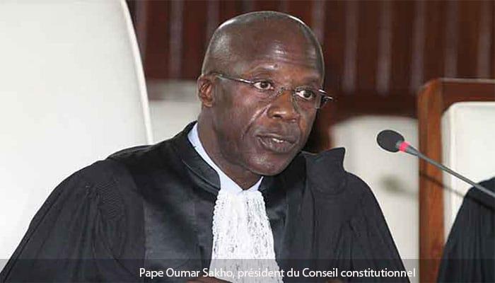 Pourquoi le Président du Conseil Constitutionnel, Pape  Oumar Sakho, dans l'illégalité depuis le 12 août 2016... (Par Seybani Sougou)