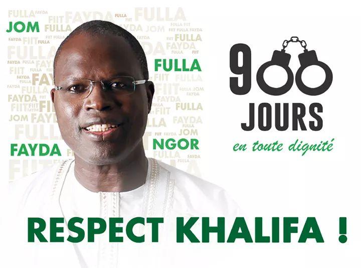 """Khalifa Sall à ses proches: """"voilà neuf cents jours que nos regards ne se sont pas croisés"""""""