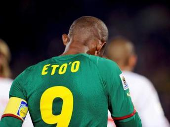 Samuel Eto'o sera un des grands absents de cette CAN 2012. Reuters