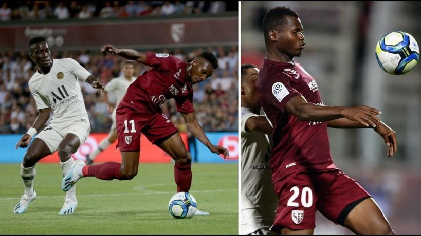 FC Metz - PSG : les notes du match, Gana meilleur que Nguette et Diallo