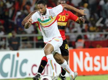Le Malien, Seydou Keita en jambes pour la CAN 2012 Pierre-René Worms/RFI