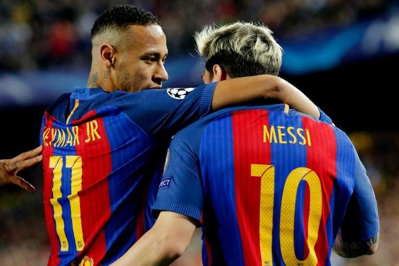 Les joueurs voulaient donner de l'argent pour le retour de Neymar