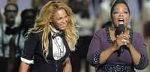 Beyoncé choisit une richissime présentatrice pour baptiser sa fille !