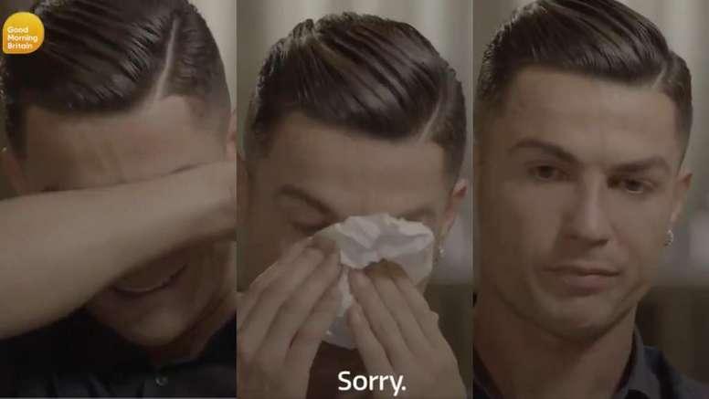 """Ronaldo en larmes : """"Je suis le numéro 1 et mon père n'a pas pu le voir"""""""