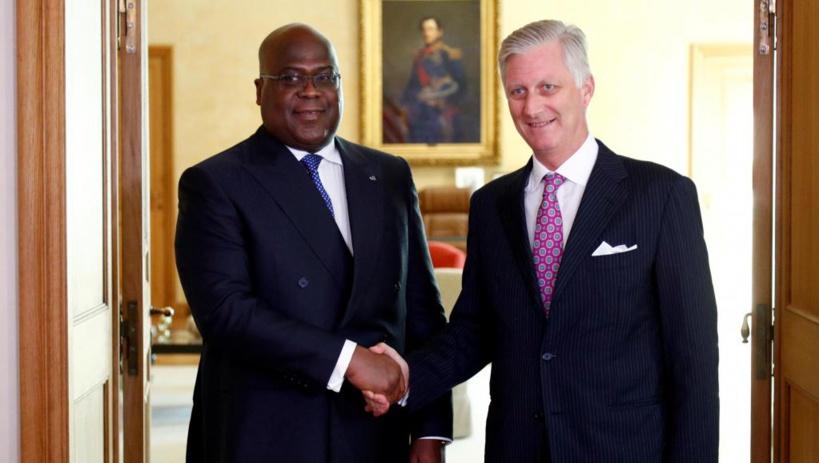 Belgique: signature de protocoles d'accord lors de la visite du président Tshisekedi