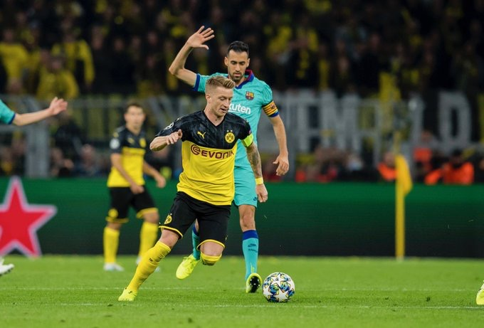 #LigueDesChampions - Le Barça échappe à la défaite à Dortmund