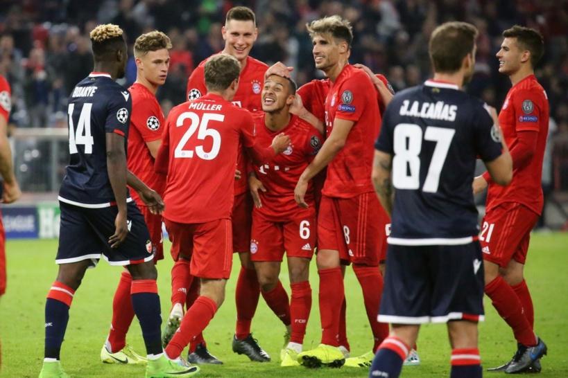 #LigueDesChampions - Le Bayern Munich domine l'Etoile Rouge (3-0)