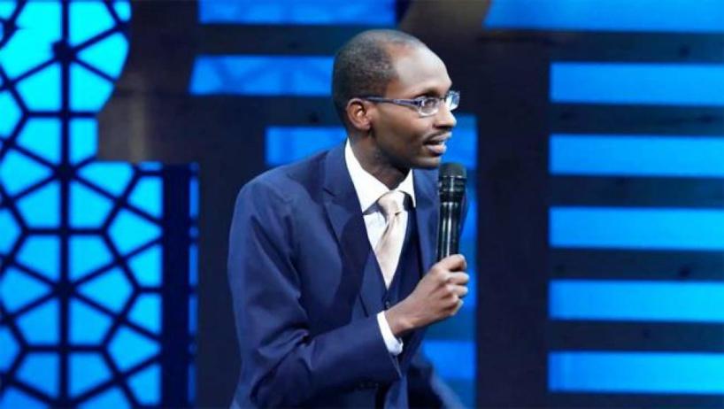 Hervé Kimenyi, ce comique rwandais qui «rit, mais de choses sérieuses»