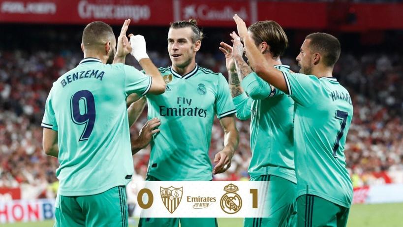 Liga: Benzema permet au Réal Madrid de se reprendre